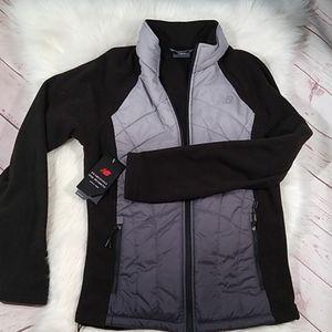 NWT New balance ombre fleece blend jacket small